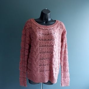 mauve sweater SZ M urban outfitters fall weather